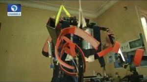 Video: Egyptian Teens Develops Robotic Exoskeleton